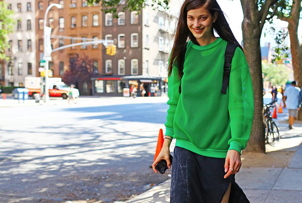 Larissa Hofmann Street Style Model