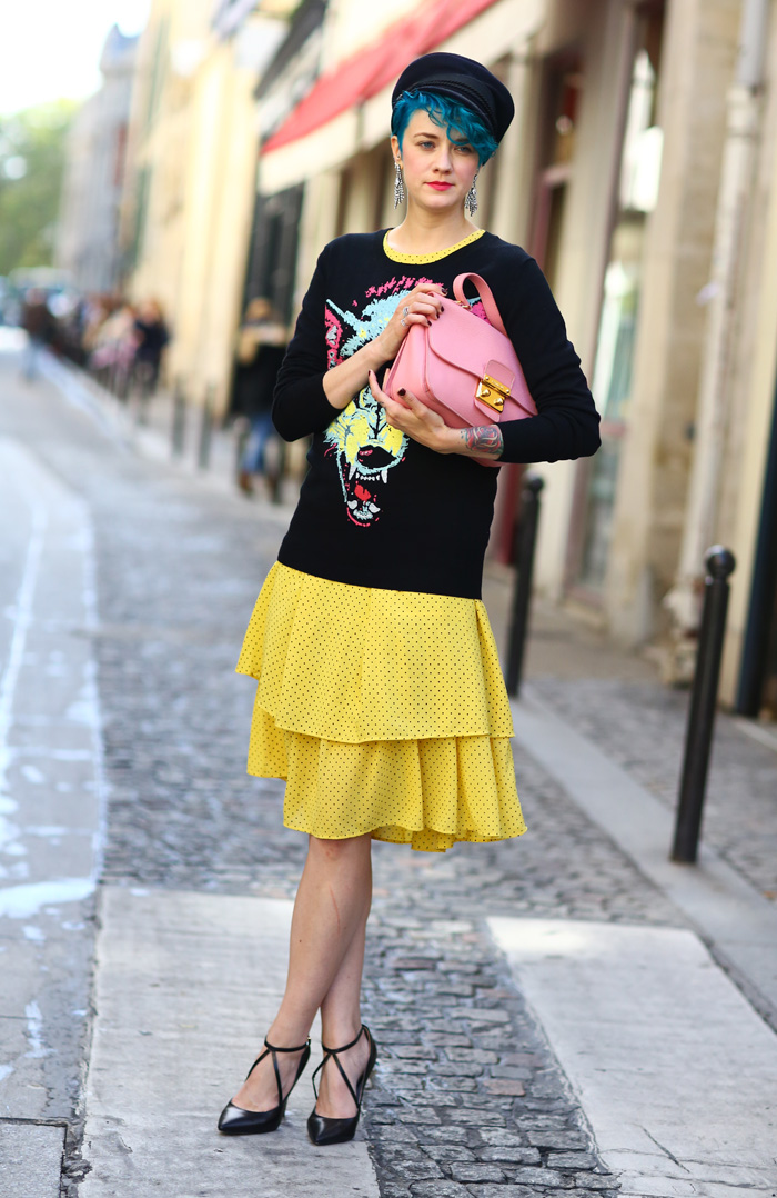Marianne Angry Wolf Street Fashion Street Peeper Global Street Fashion And Street Style