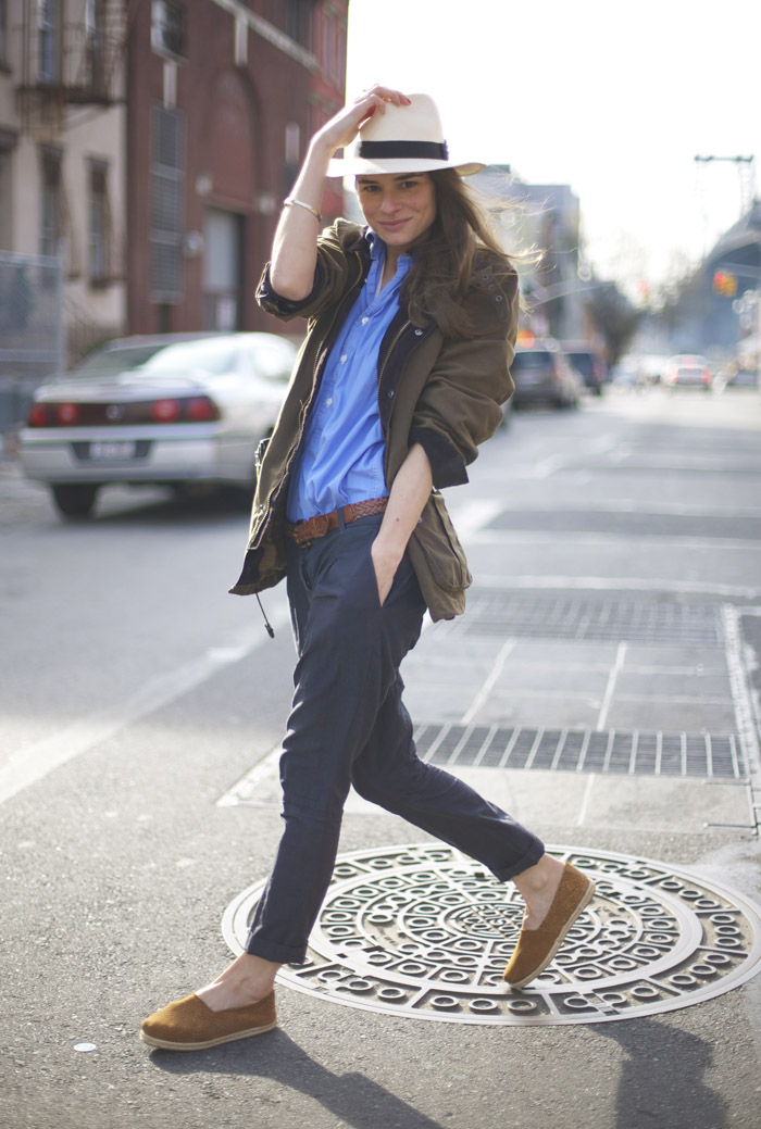 Marina Munoz in Williamsburg | Street Fashion