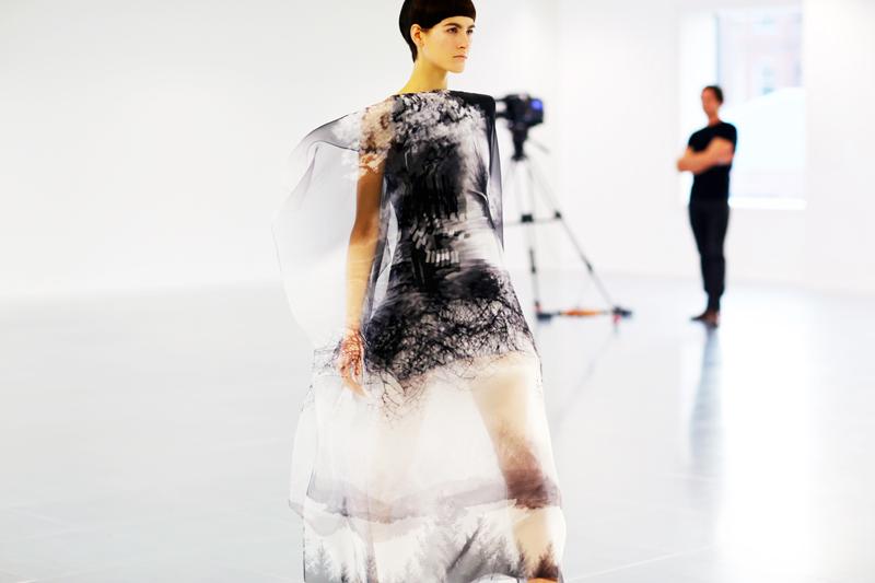 Mary Katrantzou Fall Winter Dress 2013 13
