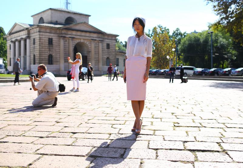 Oksana On Pink