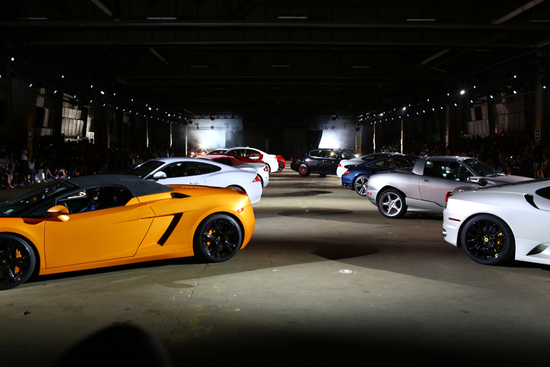 Opening Ceremony Runway Cars