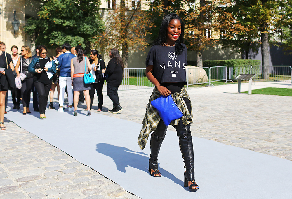 Rajni Jacques Flannel Street Style