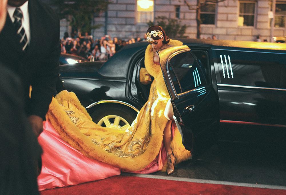 Rihanna Met Gala 2015