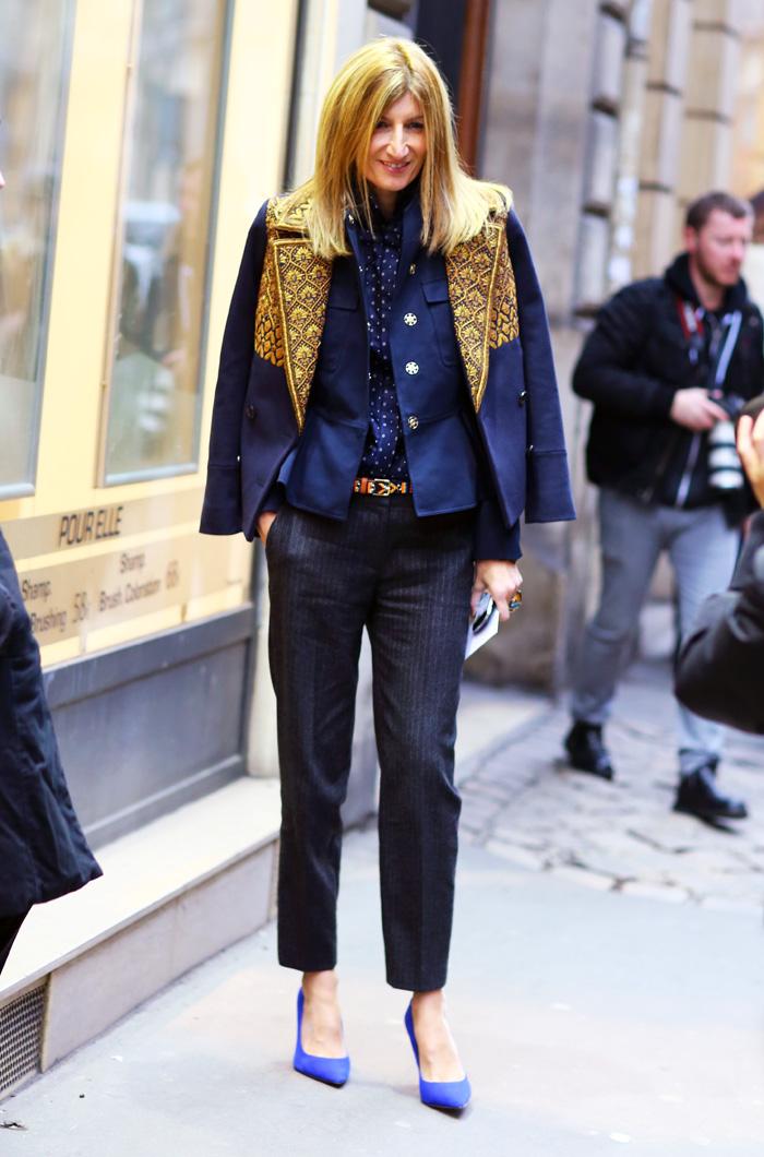 Sarah Rutson in J.Crew | Street Fashion