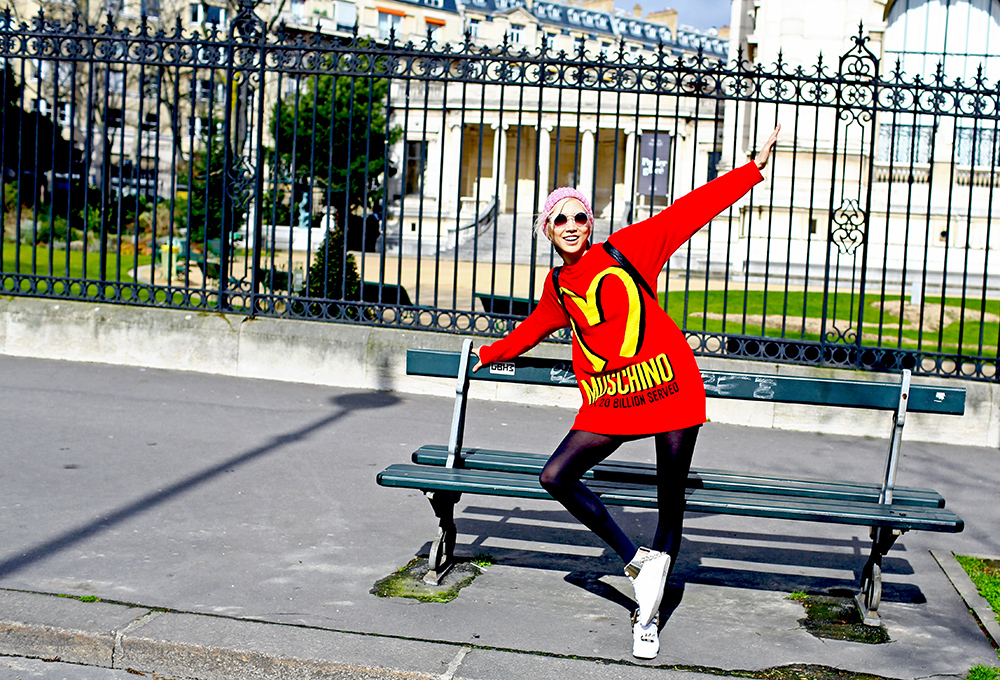 Moschino McDonalds Soo Joo Sweater
