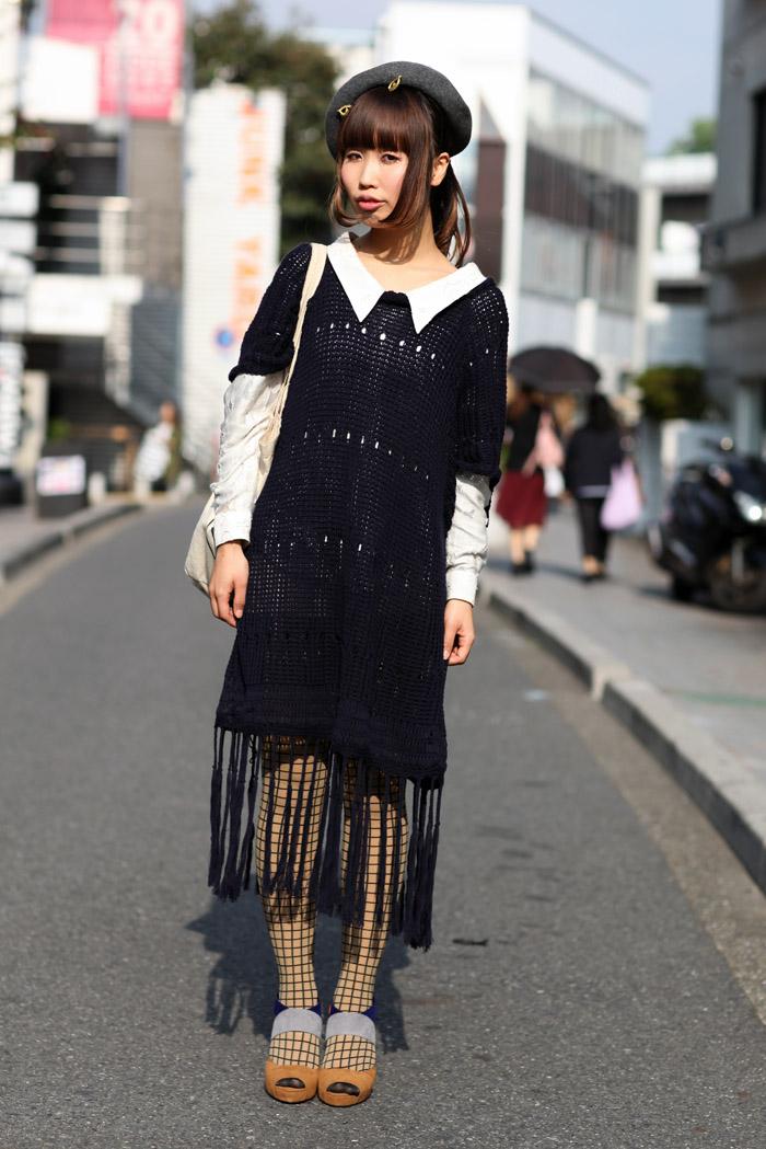 Tokyo Crochet Street Fashion Street Peeper Global Street Fashion And Street Style