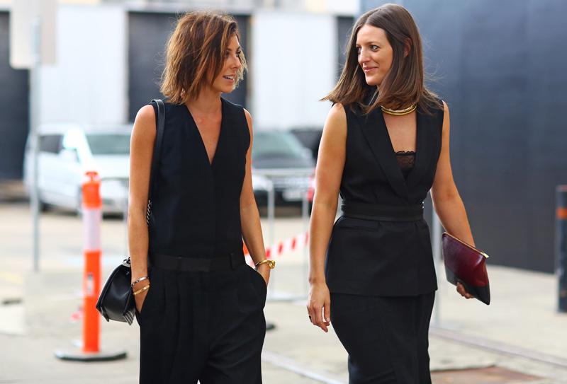 Vogue Australia Black