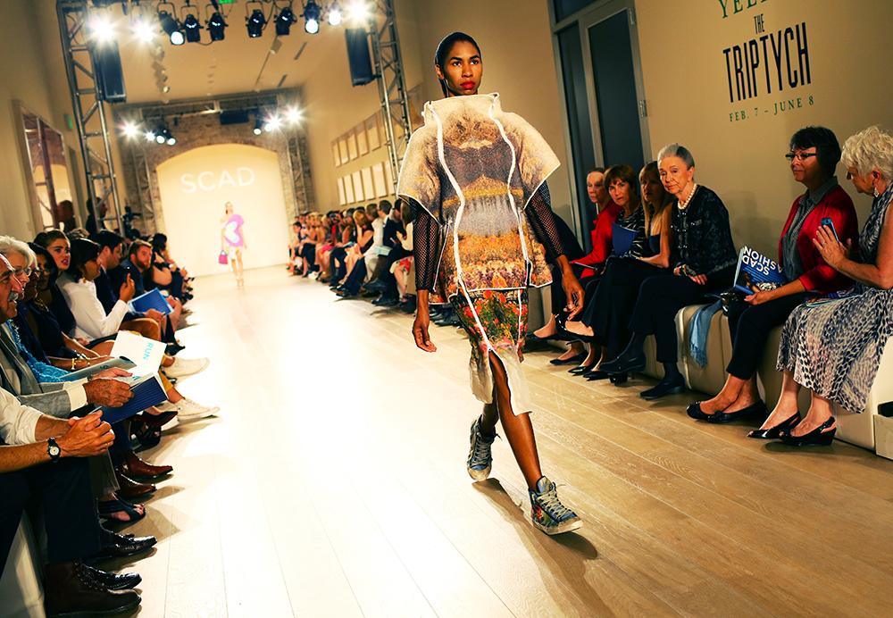 Zenobia Duncan SCAD Fashion Show